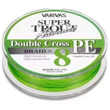 Шнур Varivas Super Trout Advance Double Cross 0,6/6lb/91м